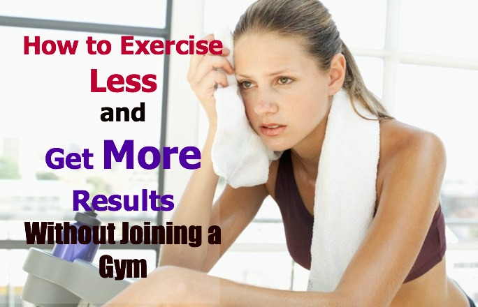 How to do Exercise without Gym