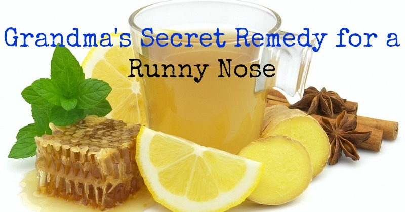 Best Natural Cure For Runny Nose