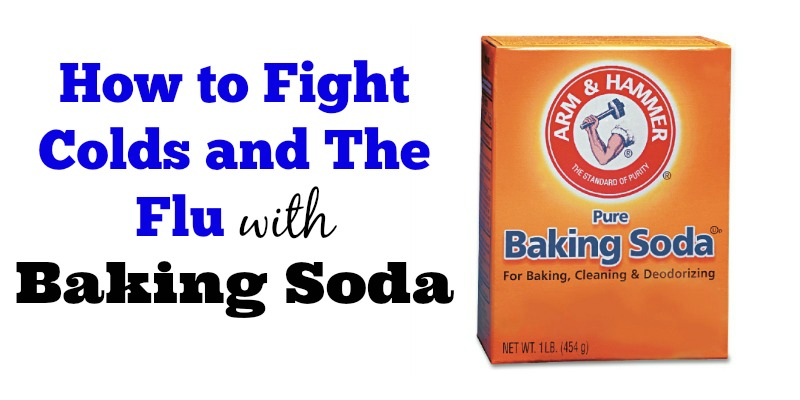 How to Fight Colds and The Flu with Baking Soda